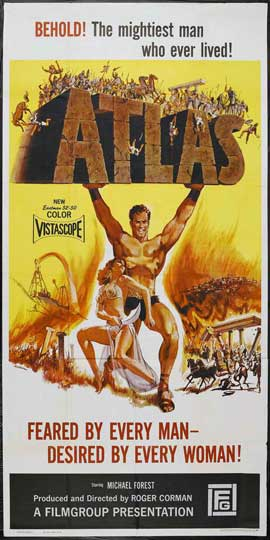 Atlas - 20 x 40 Movie Poster - Style A