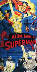 Atom Man vs. Superman - 11 x 17 Movie Poster - Style B