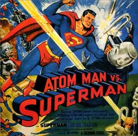 Atom Man vs. Superman - 11 x 14 Movie Poster - Style G