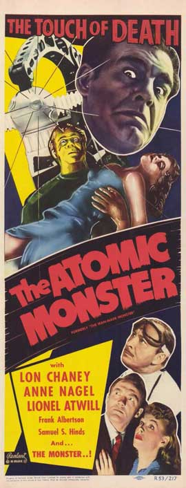 The Atomic Monster - 11 x 17 Movie Poster - Style A