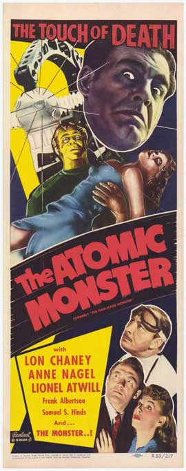 The Atomic Monster - 14 x 36 Movie Poster - Insert Style A