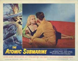 Atomic Submarine - 11 x 14 Movie Poster - Style H