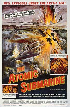 Atomic Submarine - 11 x 17 Movie Poster - Style A