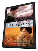 Atonement - 27 x 40 Movie Poster - Style A - in Deluxe Wood Frame