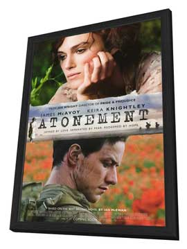 Atonement - 27 x 40 Movie Poster - Style B - in Deluxe Wood Frame