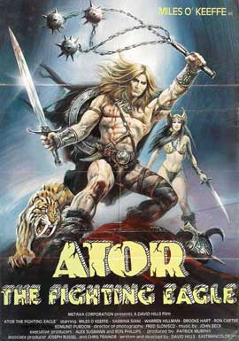 Ator, the Fighting Eagle - 11 x 17 Movie Poster - Style A