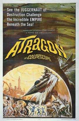 Atragon - 11 x 17 Movie Poster - Style A