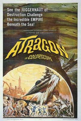Atragon - 27 x 40 Movie Poster - Style A