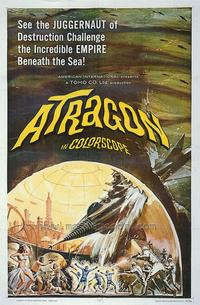 Atragon - 43 x 62 Movie Poster - Bus Shelter Style A