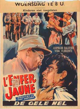 Atrocities of Fort Santiago - 11 x 17 Movie Poster - Belgian Style A
