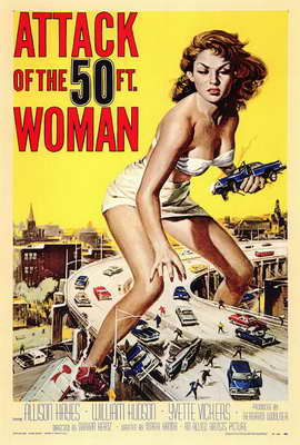 Attack of the 50 Foot Woman - 27 x 40 Movie Poster - Style A
