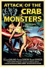 Attack of the Crab Monsters - 27 x 40 Movie Poster - Style A