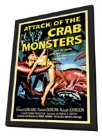Attack of the Crab Monsters - 11 x 17 Movie Poster - Style A - in Deluxe Wood Frame