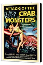 Attack of the Crab Monsters - 27 x 40 Movie Poster - Style A - Museum Wrapped Canvas