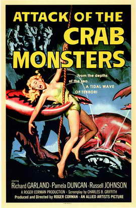 Attack of the Crab Monsters - 11 x 17 Movie Poster - Style A