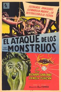 Attack of the Crab Monsters - 11 x 17 Movie Poster - Spanish Style A