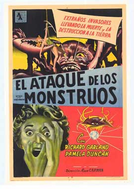 Attack of the Crab Monsters - 27 x 40 Movie Poster - Spanish Style A