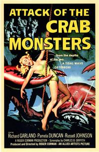 Attack of the Crab Monsters - 43 x 62 Movie Poster - Bus Shelter Style A