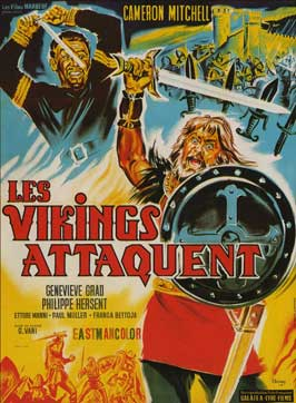 Attack of the Normans - 11 x 17 Movie Poster - French Style A