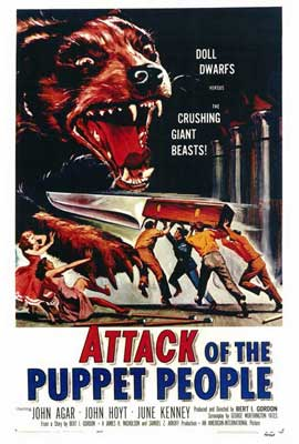 Attack of the Puppet People - 27 x 40 Movie Poster - Style A