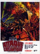 Attack on The Iron Coast - 11 x 17 Movie Poster - French Style A