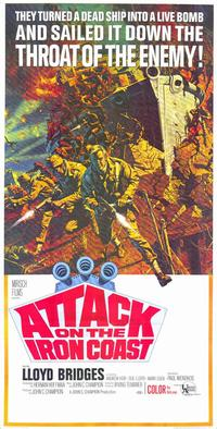 Attack on The Iron Coast - 11 x 17 Movie Poster - Style A