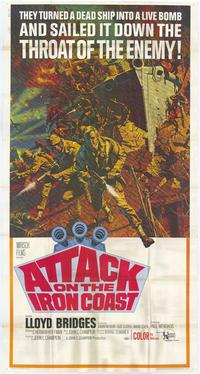 Attack on The Iron Coast - 43 x 62 Movie Poster - Bus Shelter Style A