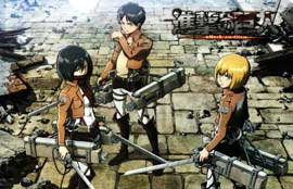 Attack on Titan - 11 x 17 Movie Poster - Style A