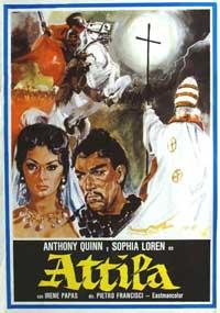 Attila - 11 x 17 Movie Poster - Spanish Style B