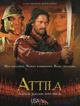 Attila - 11 x 17 Movie Poster - Style A