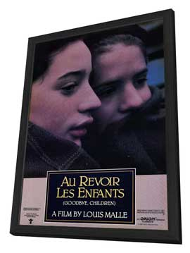 Au Revoir les Enfants - 11 x 17 Movie Poster - Style A - in Deluxe Wood Frame