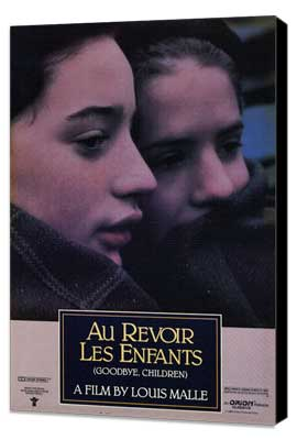 Au Revoir les Enfants - 11 x 17 Movie Poster - Style A - Museum Wrapped Canvas