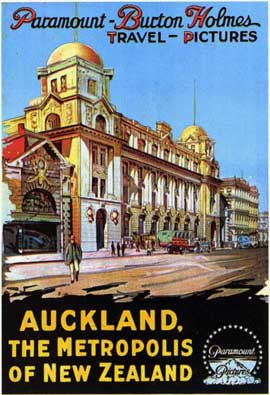 Auckland, the Metropolis of New Zealand - 11 x 17 Movie Poster - Style A