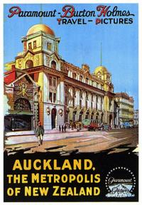 Auckland, the Metropolis of New Zealand - 43 x 62 Movie Poster - Bus Shelter Style A