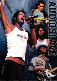 Audioslave - Music Poster - 24 x 36 - Style A