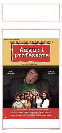 Auguri professore - 13 x 28 Movie Poster - Italian Style A