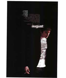 August - 11 x 17 Movie Poster - Style A