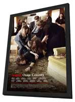 August: Osage County - 11 x 17 Movie Poster - Style C - in Deluxe Wood Frame