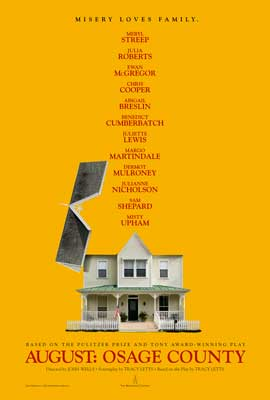 August: Osage County - 27 x 40 Movie Poster - Style B
