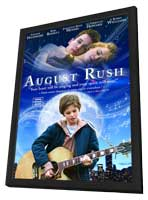 August Rush - 27 x 40 Movie Poster - Style I - in Deluxe Wood Frame