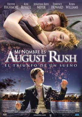 August Rush - 11 x 17 Movie Poster - Spanish Style A