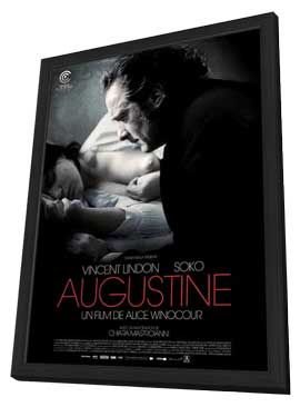 Augustine - 27 x 40 Movie Poster - French Style A - in Deluxe Wood Frame