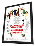 Auntie Mame - 11 x 17 Movie Poster - Style A - in Deluxe Wood Frame
