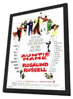 Auntie Mame - 27 x 40 Movie Poster - Style A - in Deluxe Wood Frame