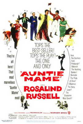 Auntie Mame - 11 x 17 Movie Poster - Style A