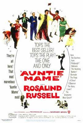 Auntie Mame - 27 x 40 Movie Poster - Style A