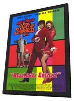 Austin Powers 2: The Spy Who Shagged Me - 11 x 17 Movie Poster - Style C - in Deluxe Wood Frame