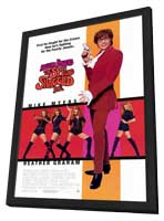 Austin Powers 2: The Spy Who Shagged Me - 27 x 40 Movie Poster - Style B - in Deluxe Wood Frame