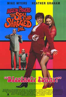 Austin Powers 2: The Spy Who Shagged Me - 11 x 17 Movie Poster - Style C