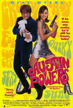 Austin Powers: International Man of Mystery - 11 x 17 Movie Poster - Style D